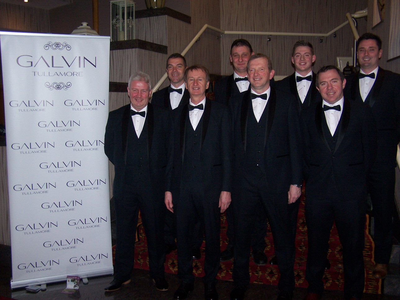 Galvin for Men sponsored the dress suits THANK YOU