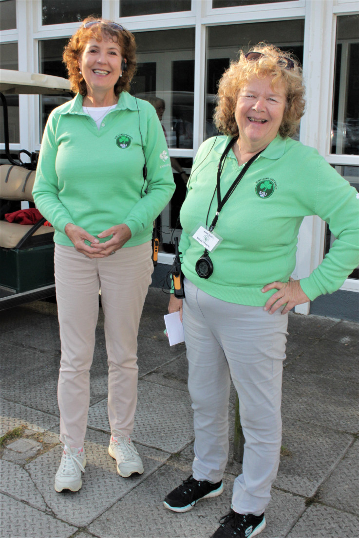 Marie Byrne and Anne Duffy Mulingar Referees on the day
