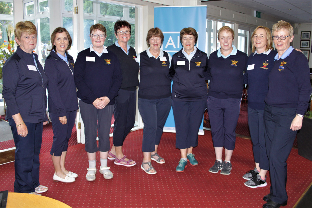 Some of the Ladies who had a very busy day assisting everywhere