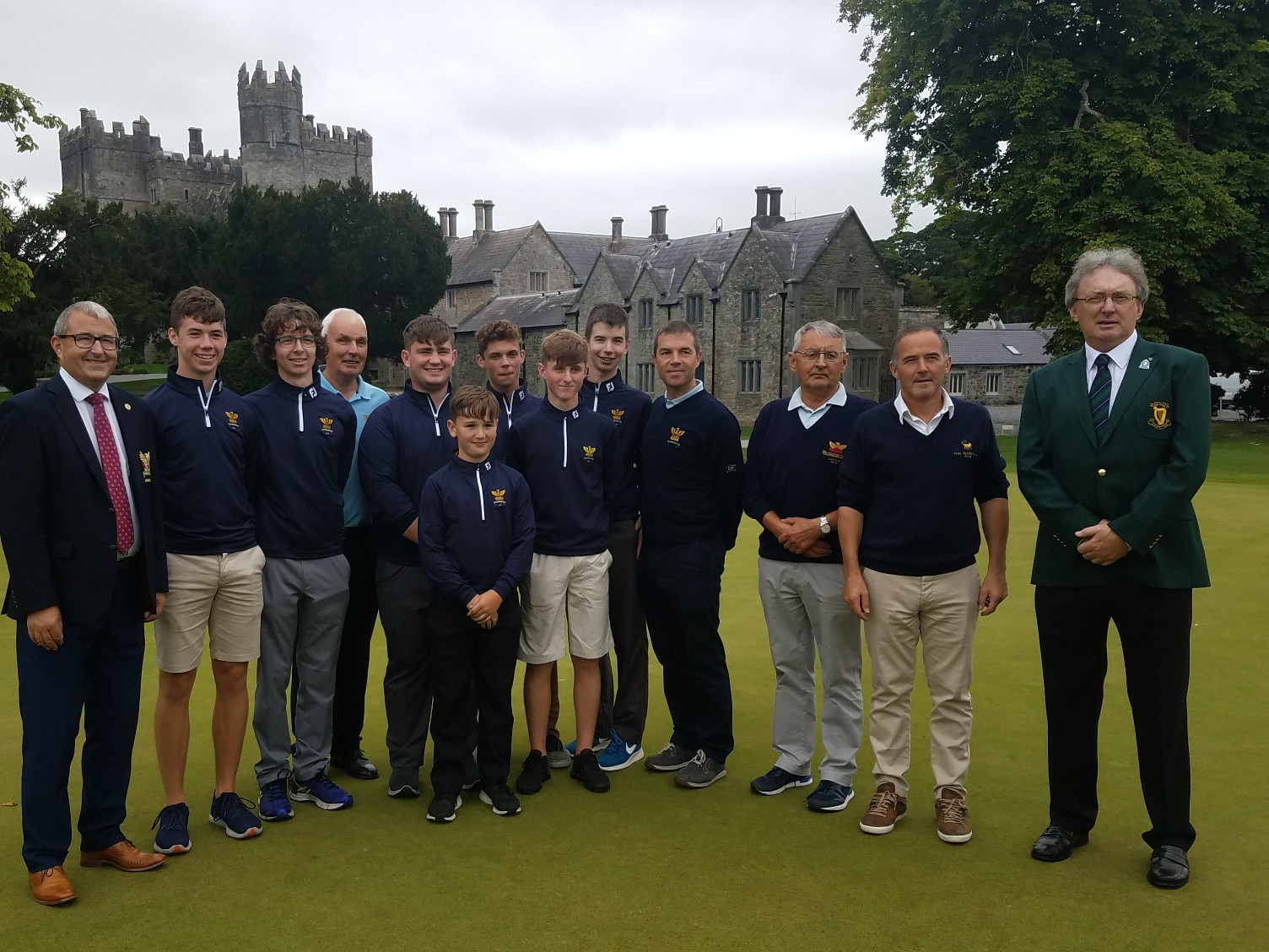 Leinster winners at Kilkea Castle