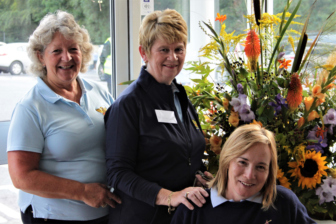 Olive Payne the photographer for all these and responsible for the flower arranging with Joe Barber Loughnane and Janet Cogley