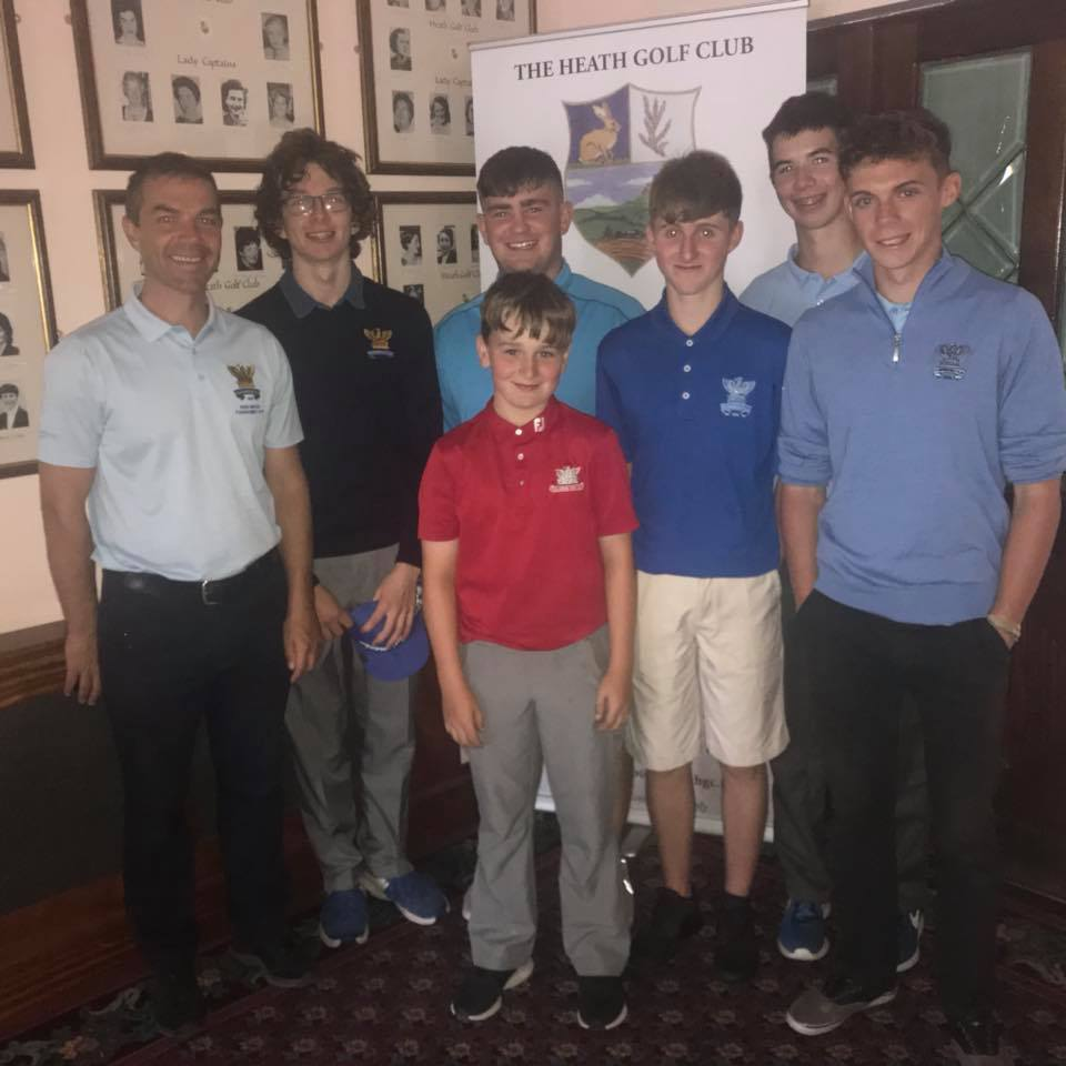 Winners in the qualifier in the Heath - From here to All Ireland Glory You never know in Golf !
