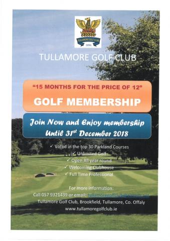 Membership Offer 15 Months for price of 12