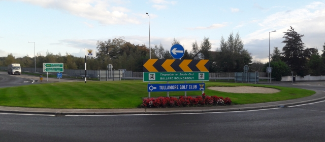 Roundabout from Birr side