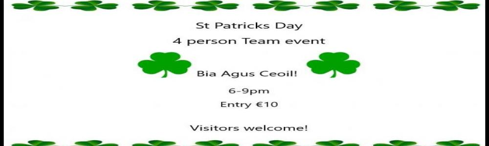 St Patrick's Day @Tullamore Golf Club
