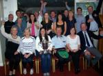 Team at celebration in Club