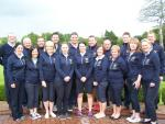 Team after the semi final victory against Athenry